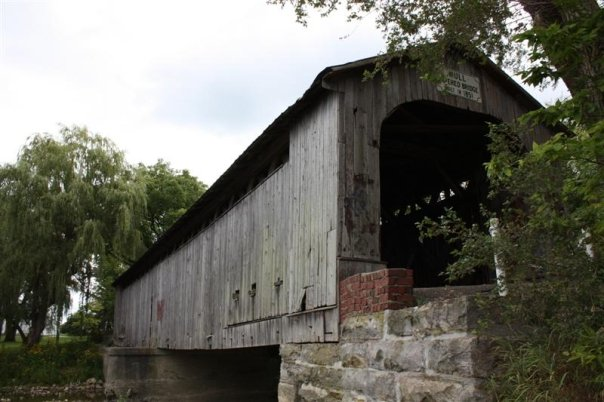 Mull covered bridge - Fremont, Ohio