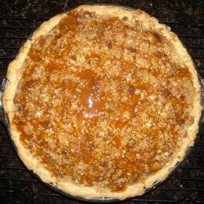Caramel Apple Pie by Nutmeg Nanny