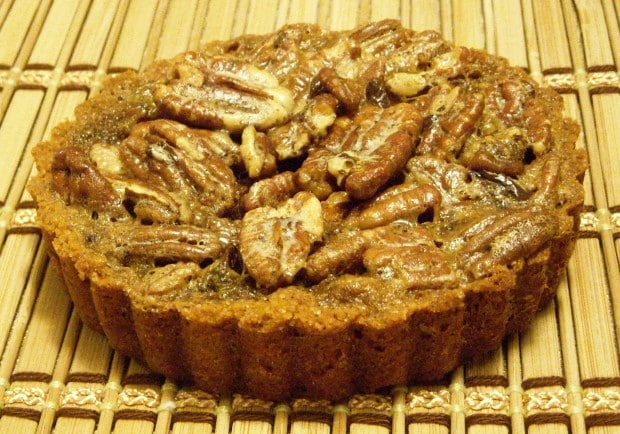 This mini chocolate espresso pecan tart is the perfect addition to your holiday table. They are rich, delicious and perfect for sweet snacking.