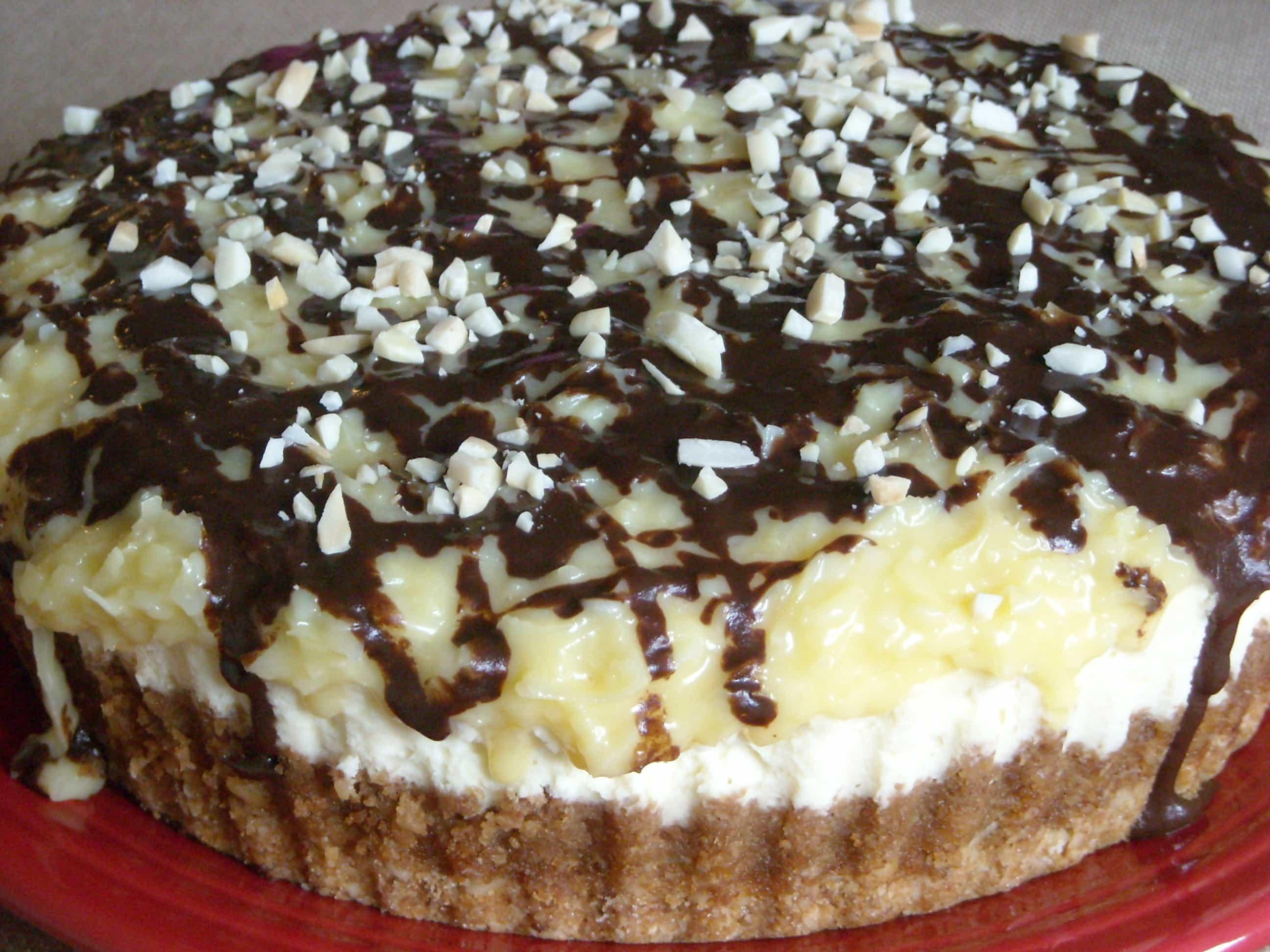 German Chocolate Cheesecake by Nutmeg Nanny