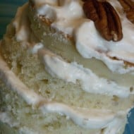 Banana Layer Cake with Caramel Cream by Nutmeg Nanny
