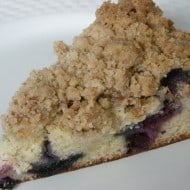 Blueberry Crumb Cake by Nutmeg Nanny