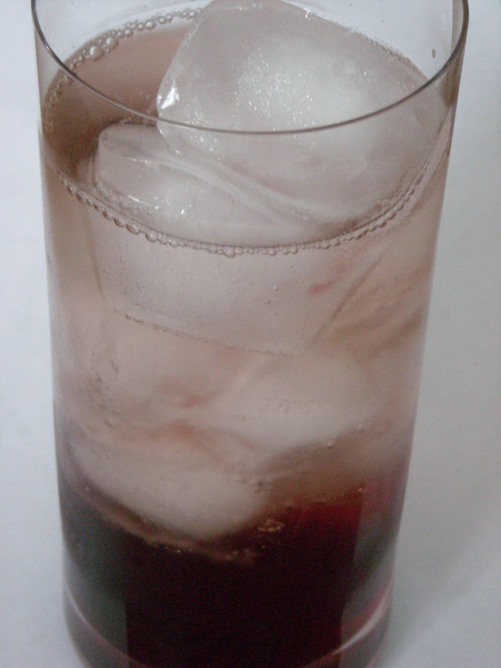 Homemade Grenadine and Boozy Fizzy Soda by Nutmeg Nanny
