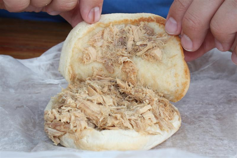 Root's Shredded Chicken Sandwich.  A Fremont, Ohio favorite.