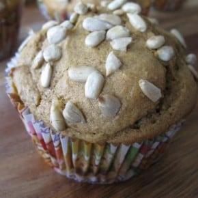 Copycat Tim Hortons Pumpkin Spice Muffins via Nutmeg Nanny