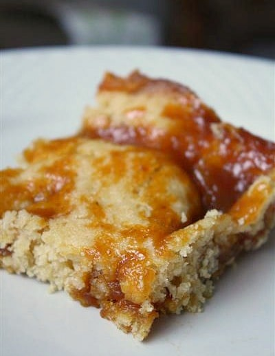 Maple Pumpkin Butter Pudding Cake by Nutmeg Nanny