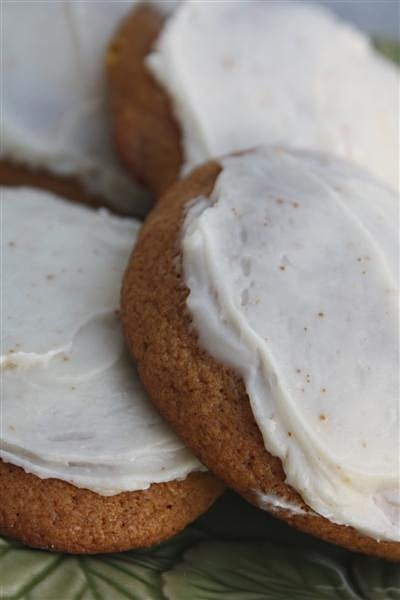 These pumpkin cookies with brown butter icing are perfect for fall. Cakey cookies topped with homemade brown butter icing. How can you not love these cookies?