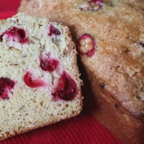 Cranberry Nut Bread by Nutmeg Nanny