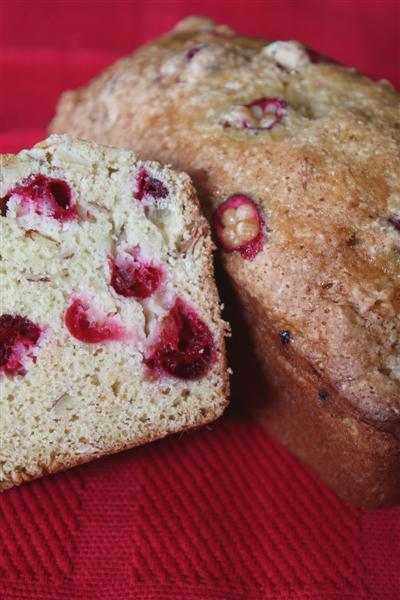 Cranberry Nut Bread by Nutmeg Nanny