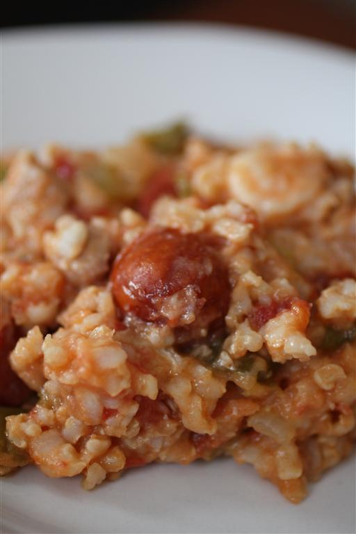 Spicy Jambalaya by Nutmeg Nanny