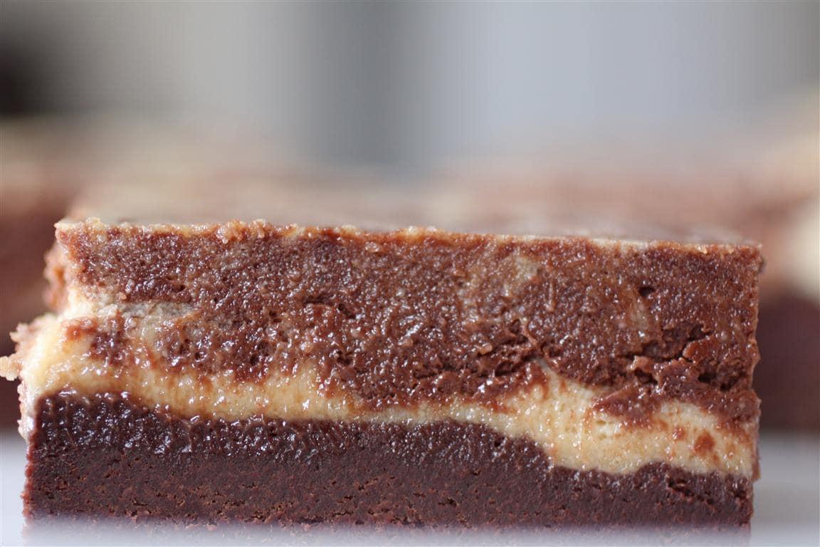 Peanut Butter Chocolate Cheesecake Brownies | Nutmeg Nanny