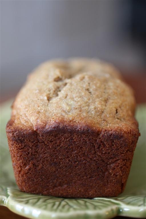 This graham flour banana bread is a delicious twist to a traditional bread. Full of nutty flavor and super moist. Say hello to your new favorite banana bread.
