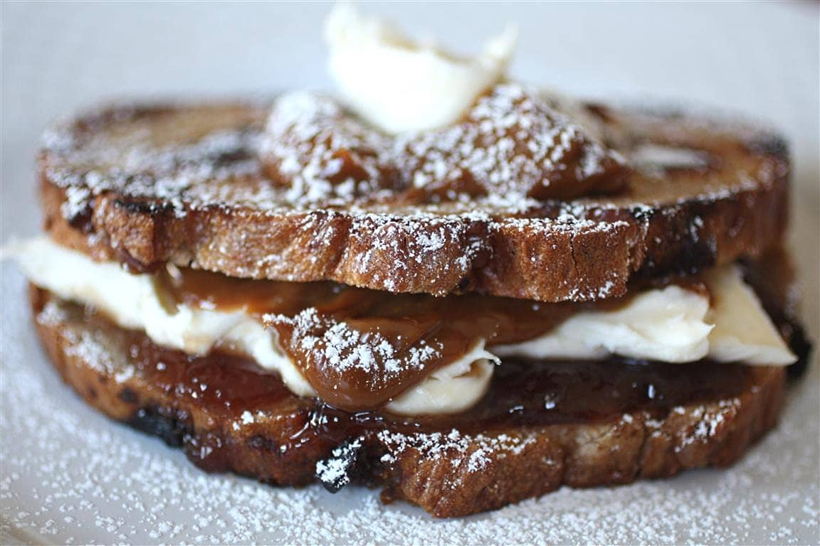 The Bianca Dessert Grilled Cheese by Nutmeg Nanny