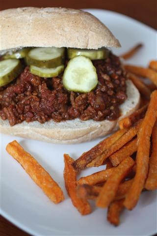 These sloppy Cubanos are the perfect spin to the traditional sloppy Joe. All the tastes of a Cuban sandwich in sloppy sandwich form. So easy and so delicious!