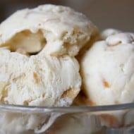 Banana Cajeta Cashew Ice Cream by Nutmeg Nanny