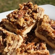 Double Nut Maple Bars by Nutmeg Nanny