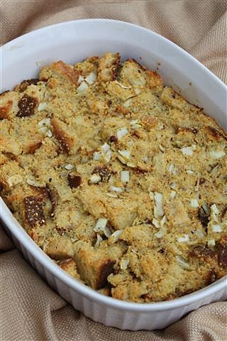 Sage and Cornbread Stuffing by Nutmeg Nanny