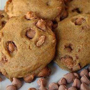 Pumpkin Butterscotch Cookies by Nutmeg Nanny
