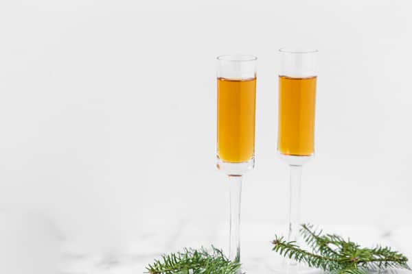 This three wise men shot uses 3 different whiskeys and is packed with holiday fun! One word of advice - it's pretty potent so be warned it can get you into the holiday spirit pretty fast. Cheers!