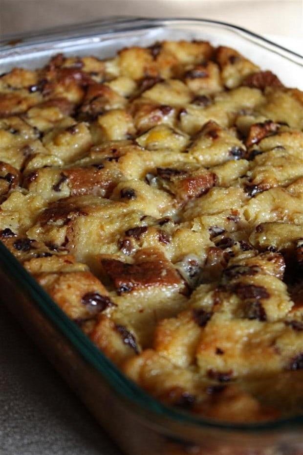 Panettone Bread Pudding | Nutmeg Nanny