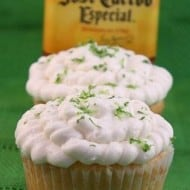 Margarita Lime Curd Filled Cupcakes by Nutmeg Nanny