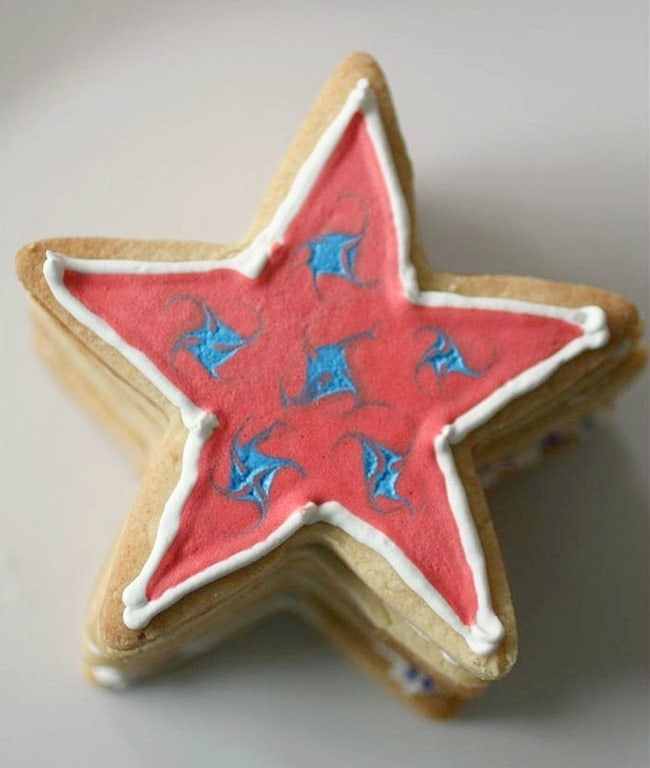 Fourth of July Sugar Cookies by Nutmeg Nanny