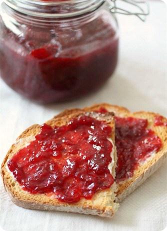 Vanilla Bean Strawberry Jam - Nutmeg Nanny