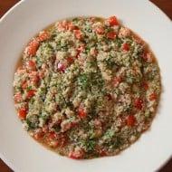 Quinoa Tabouli by Nutmeg Nanny