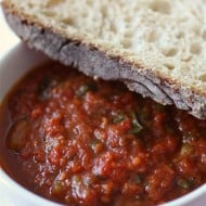 Roasted Garlic Tomato Sauce by Nutmeg Nanny