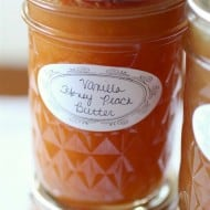 Vanilla Honey Peach Butter by Nutmeg Nanny