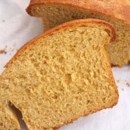 Pumpkin Yeast Bread by Nutmeg Nanny