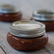 Slow Cooker Homemade Ketchup via Nutmeg Nanny