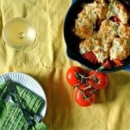 Savory Tomato Cobbler via Nutmeg Nanny