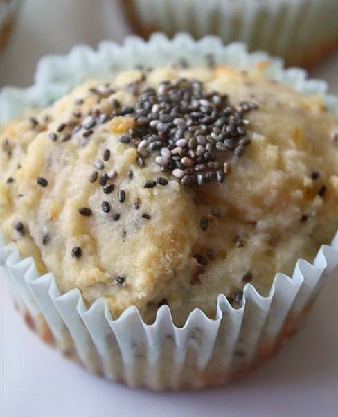These lemon chia seed muffins are full of citrus flavor and PACKED full of healthy chia seeds. So easy to make and even easier to eat!