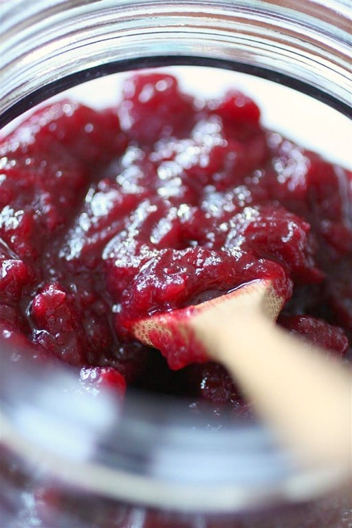 This simple cranberry apple chutney will jazz up your holiday table and give you a break from the same boring canned cranberry sauce.