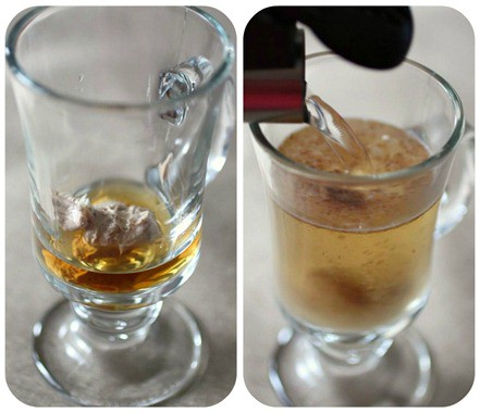 Chai Spiced Buttered Rum Collage