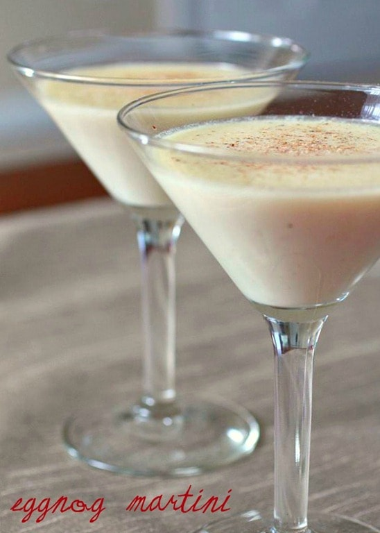 Eggnog Martini by Nutmeg Nanny