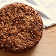 Banana Cinnamon Streusel Coffee Cake by Nutmeg Nanny