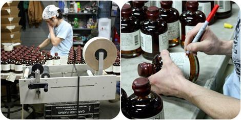 Tuthilltown Spirits Bottling Room Collage2