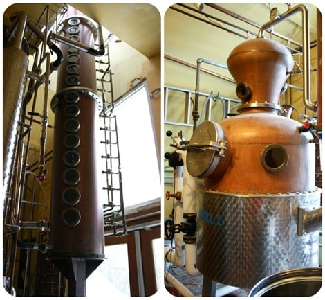 Tuthilltown Spirits Stills Collage