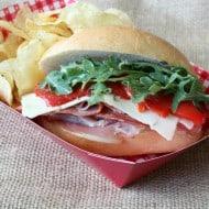 Italian Mini Sub Sandwiches with Homemade Sub Sauce by Nutmeg Nanny