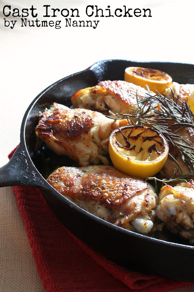 Cast Iron Chicken from Nutmeg Nanny