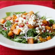 Butternut Squash Salad by Nutmeg Nanny