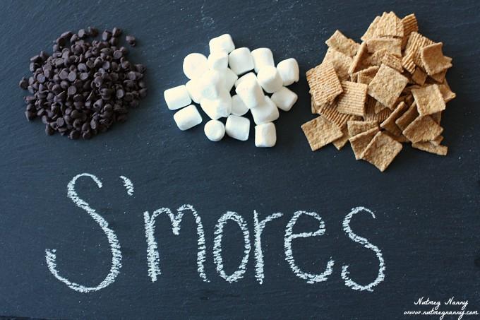 S'mores Popcorn by Nutmeg Nanny