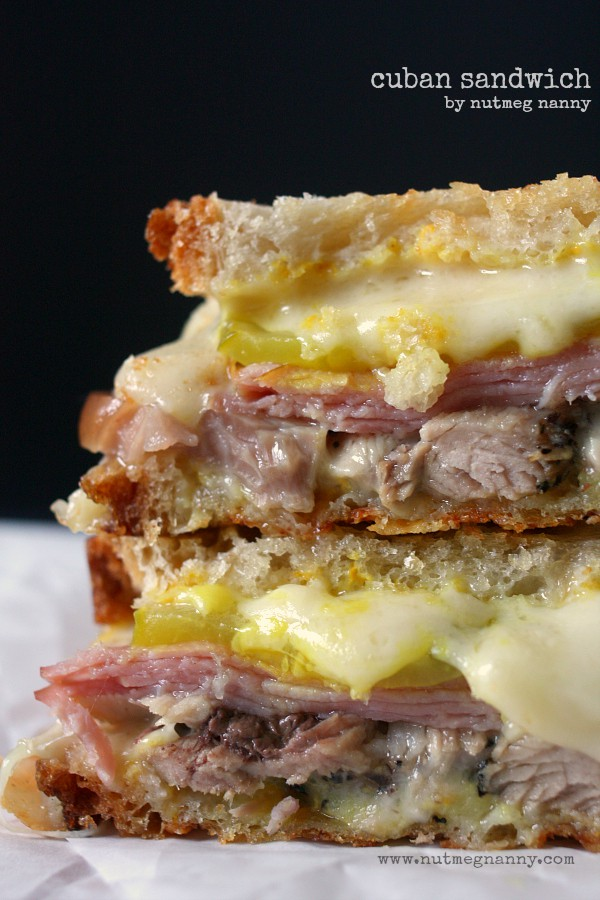 Cuban Sandwich Recipe by Nutmeg Nanny