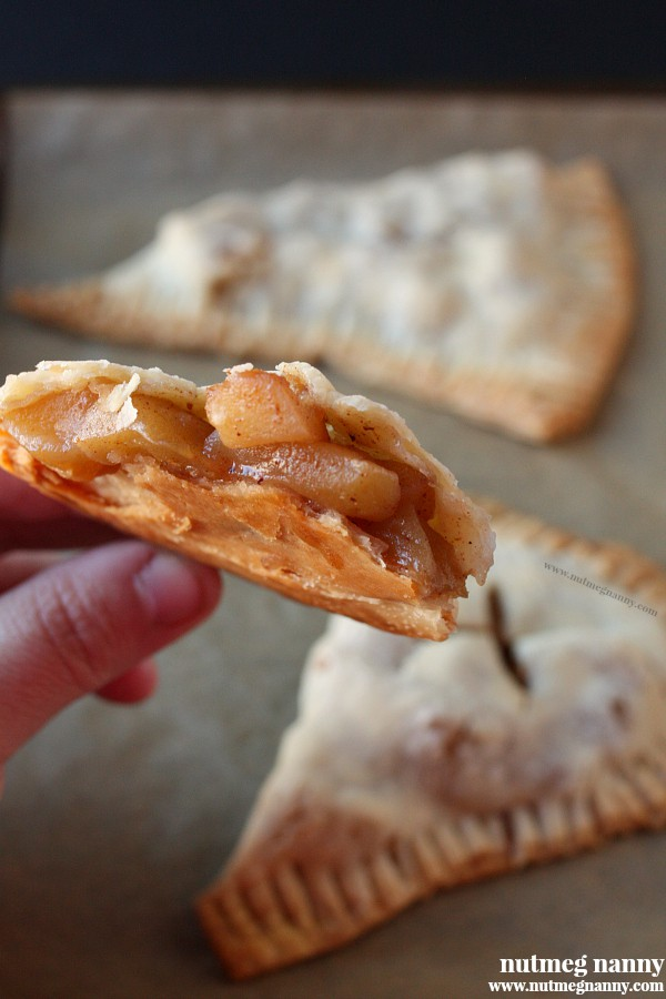 Bourbon Apple Hand Pies by Nutmeg Nanny
