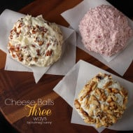 Cheese Balls Three Ways by Nutmeg Nanny