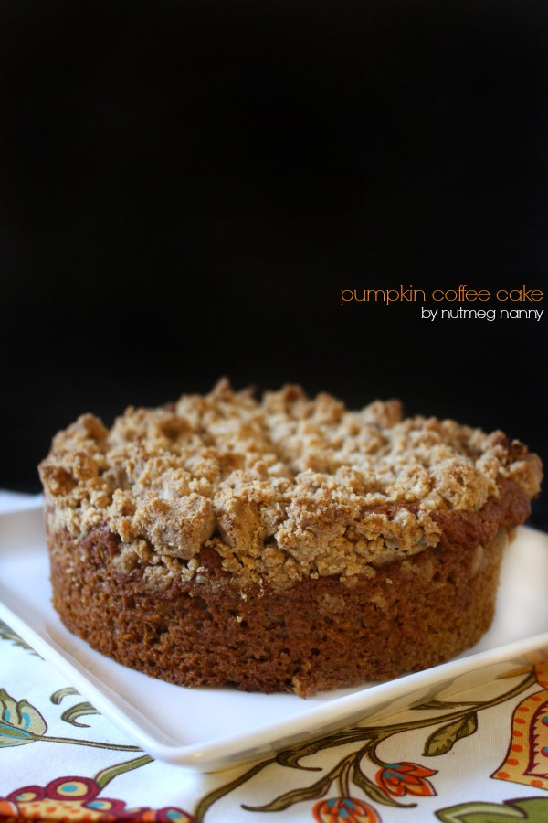 Pumpkin Coffee Cake by Nutmeg Nanny