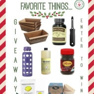 Favorite Things Giveaway by Nutmeg Nanny