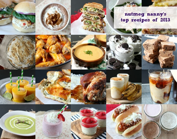 Nutmeg Nanny's Top Recipes of 2013